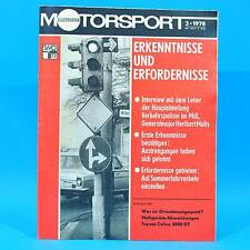 DDR Illustrierter Motorsport IMS 3/1978 Teterow Toyota Celica 2000 Wittenberg