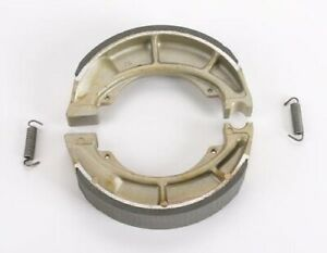 DP Front/Rear GF Friction Rated Brake Shoes for Yamaha DT100 1974-1976