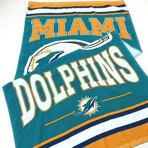 WinCraft Miami Dolphins Multicolor NFL Beach Towel