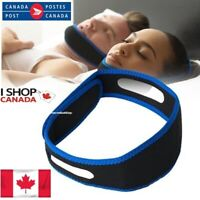 Sleep Apnea Snoring Solution CPAP Strap Anti Chin Jaw Strap Canadian Prevent