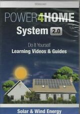 POWER4HOME SYSTEM 2.0 DO IT YOURSELF LEARNING VIDEO SOLAR & WIND ENERGY DVD NEW