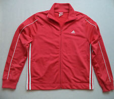 Womens ADIDAS fitness Jacket sz L athletic running gym track sports team game