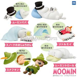 Moomin Good Night Figure Collection (COMPLETE SET 5 PCS) TAKARA TOMY ARTS JAPAN