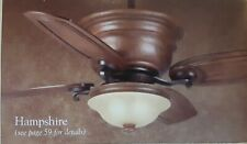 """Casablanca ceiling fan """"Hampshire"""" with up/down light and remote"""