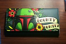 Loungefly Star Wars Bobafett Tattoo LG Flap Wallet