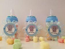 12 Elephant Fillable Bottles Baby Shower Favors Prizes Safari Jungle Noah's