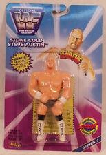 WWF WWE Just Toys Bend-Ems Series 5 Stone Cold Steve Austin (MOC) Bendies
