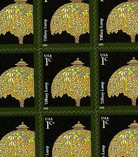 2008 - TIFFANY LAMP - #3749a Full Mint -MNH- Sheet of 20 Postage Stamps