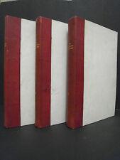 Billecocq – Le Comte Paul Stroganov – 3 Bände – Paris 1905