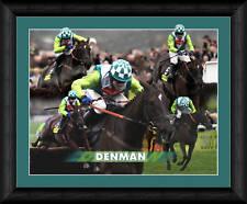 DENMAN RACE HORSE FRAMED 20x16 INCH PRINT