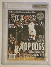 Kemba Walker Beckett UNCIRCULATED Sports Illustrated SI UConn Huskies Celtics
