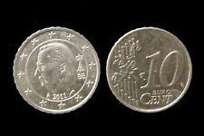 Euro-Münzen  belgien:  10Cent
