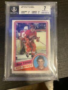 1984 OPC #67 Steve Yzerman Rookie Card RC BGS 7