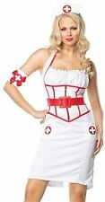 LEG AVENUE ON CALL NURSE ADULT HALLOWEEN COSTUME WOMEN'S SIZE LARGE