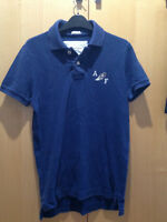 Abercrombie & Fitch Navy Polo Shirt - Size S