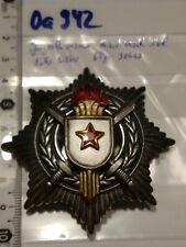 Orden Jugoslawien Militär Verdienstorden 3Kl Echt silber 900er ca 64gr (oa942)