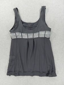 LuLuLemon Fitness Running Yoga Tank (Womens Size 8) Gray