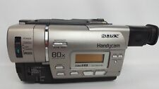 Sony Digital 8 Handycam Video Recorder CCD-TR427E Camcorder Camera w/ Charger