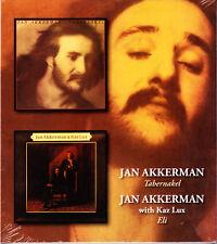 JAN AKKERMAN tabernakel / with kaz lux eli (2on1) (Slip Cased) CD NEU OVP/Sealed