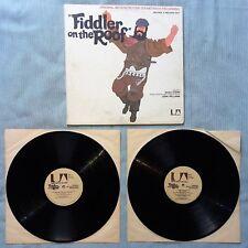 FIDDLER ON THE ROOF SOUNDTRACK DELUXE 2 LP SET 33 RPMRECORD  UAS-109001971