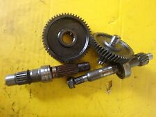 Kymco Agility 50 Off 2007 transmission gears shafts set