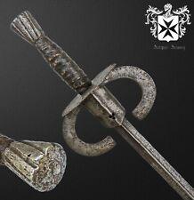 Rare 16th - 17th Century European Estoc / Rapier / Sword