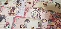Kawaii San-X Sentimental Circus Loose Large Memo Sheets 50pcs AND Stickers!