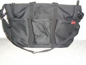 Skip And Hop Black Diaper Bag