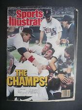 Sports Illustrated November 2, 1987 Minnesota Twins Frank Viola MLB Nov '87 E