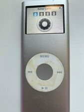 iPod Nano 2nd Gen 2 GB Silver Locked A1199