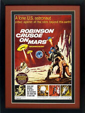 Robinson Crusoe on Mars Movie Poster Framed 20 X 15 Inches
