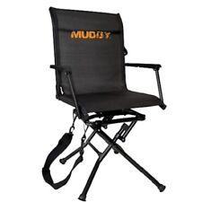 New Muddy Swivel Ease Ground Seat Black MGS400
