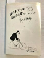 Harry Crews Where Does One Go Signed Limited In Dj As New