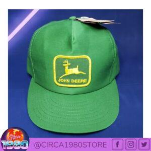 VTG John Deere Patch Snapback Trucker Hat Cap Louisville Mfg. Co. USA *NWT*