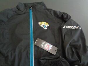 JACKSONVILLE JAGUARS Football NFL Lightweight Women's SMALL Windbreaker Jacket