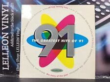 The Greatest Hits Of 91 Volume One Compilation LP Album Vinyl STAR2536 Pop 90's