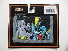 """Batman Tri-Fold Wallet 4.5"""" x 3.25"""" ( BLACK ) BRAND NEW WITH TAGS"""