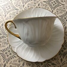 SHELLEY Fine Bone China OLEANDER PATTERN 1 Tea Cup & 1 Saucer Vintage England