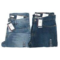 NWT Tommy Hilfiger Men's Medium Wash Classic Fit Straight Leg Denim Pants Jeans