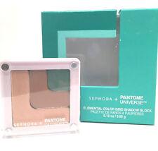 NIB Sephora + Pantone Universe Elemental Color Grid Shadow Block Emerald 2013