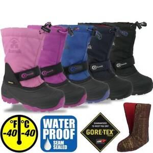 Kamik WATERBUG 5G Stiefel komplett wasserdicht Gore-Tex bis -40°C Gr.25-40
