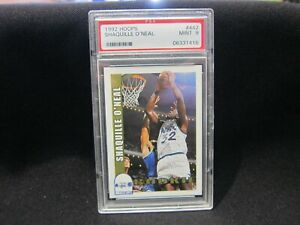 Shaquille O'Neal 1992 Hoops #442 Rookie PSA 9 - Superb Card!!🔥🔥