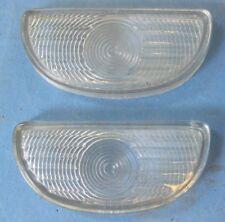 New parking light lenses pair 1949 and 1950 Oldsmobile all models