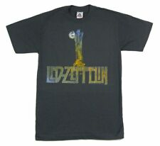 LED ZEPPELIN STAIR WAY HERMIT & LANTERN GREY T SHIRT SMALL NEW OFFICIAL MERCH