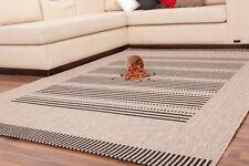 Gestreifte moderne Wohnraum-Teppiche