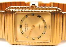 VINTAGE MENS RAYMOND WEIL WITH TAGS GOLD TONE RARE MODEL WATCH GOLDTONE