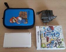 Nintendo - DS Console + Custodia + Caricabatterie + Gioco Puffi.