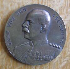 Rare Bronze Olympic Commemorative Medal IOC 10th Session 1909 Berlin Asseburg