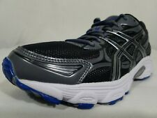 ASICS Gel Galaxy 5 Trail Running Shoes Size 9 Medium Men's Black Blue Gray T231Q