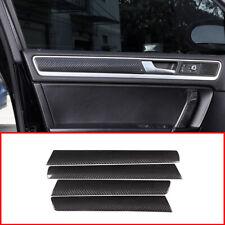 Real Carbon Fiber for VW Volkswagen Touareg 2011-18 Door Decoration Panel Cover
